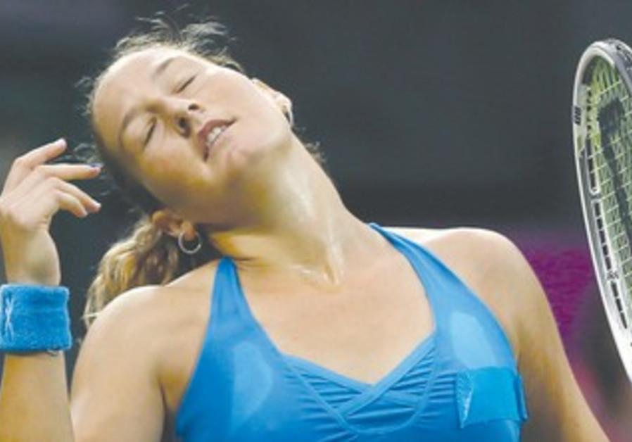 Shahar Pe'er loses in Austrailian Open