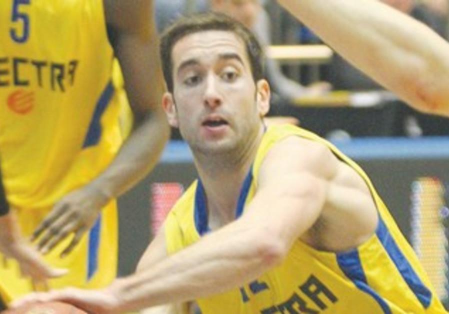 Maccabi Tel Aviv's Yogev Ohayon