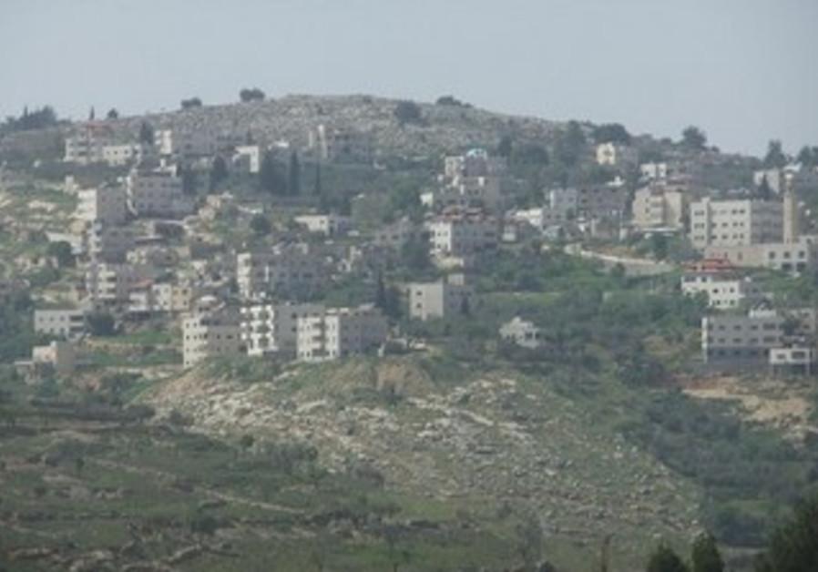 Village of Beit Iksa, northwest of Jerusalem