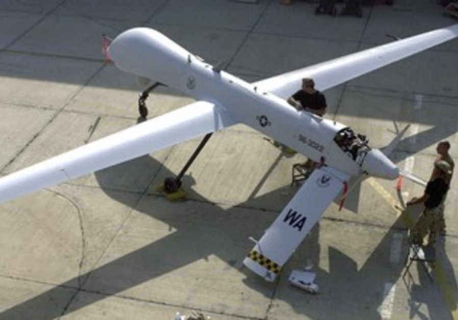 US unmanned aerial vehicle