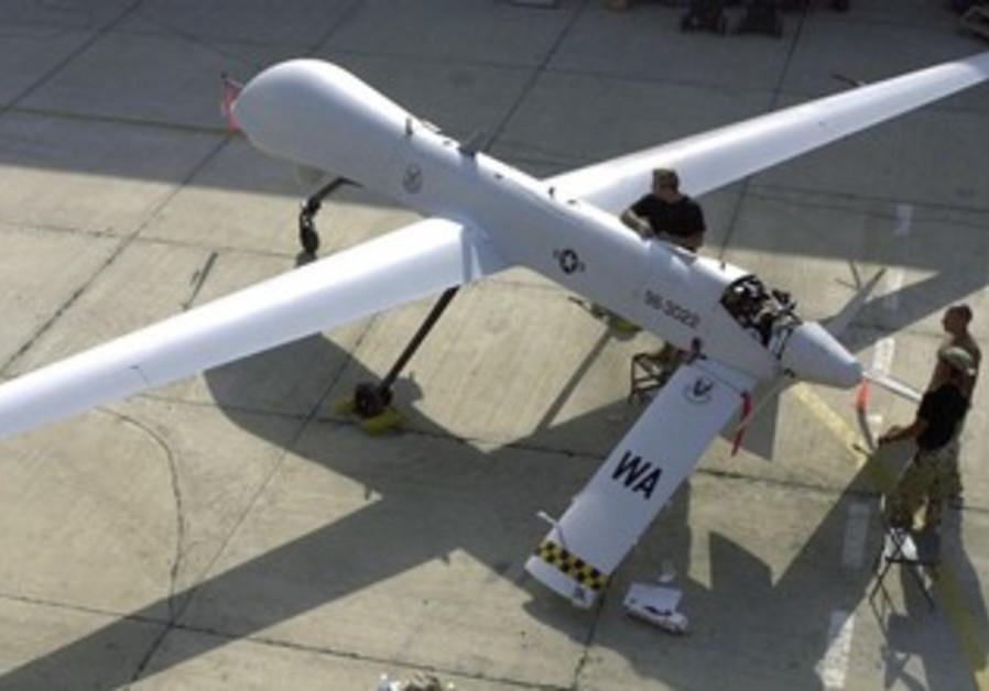US unmanned aerial vehicle