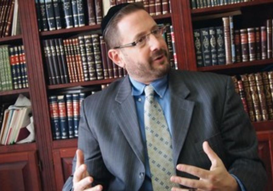 Yesh Atid's Dov Lipman.