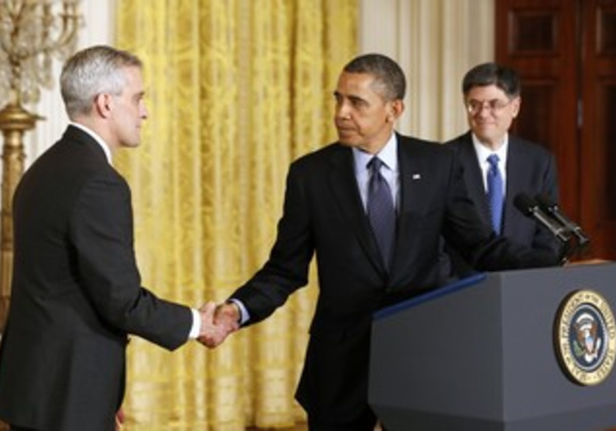 Obama introduces new chief of staff Denis McDonough, Jan 25, 2013