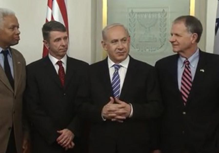 Netanyahu meets with US congressmen