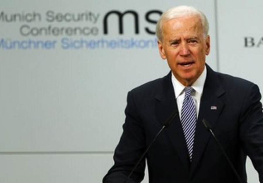 US Vice President Joe Biden at Conference on Security Policy in Munich, February 2, 2013.