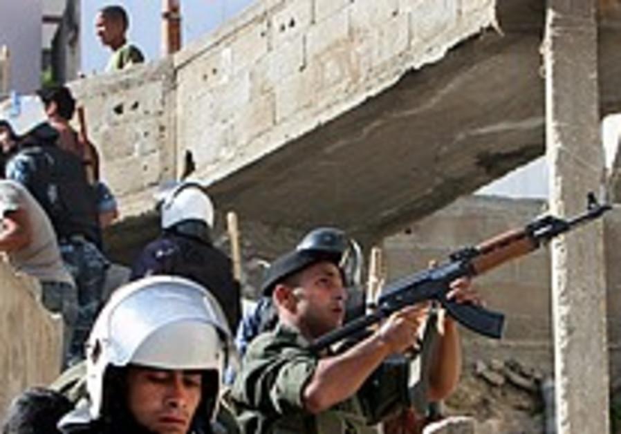 IDF: 'PA police venturing beyond their areas'