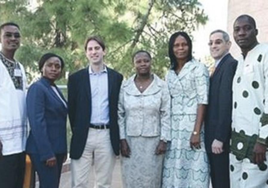 Health officials participating in IMPH program training program.