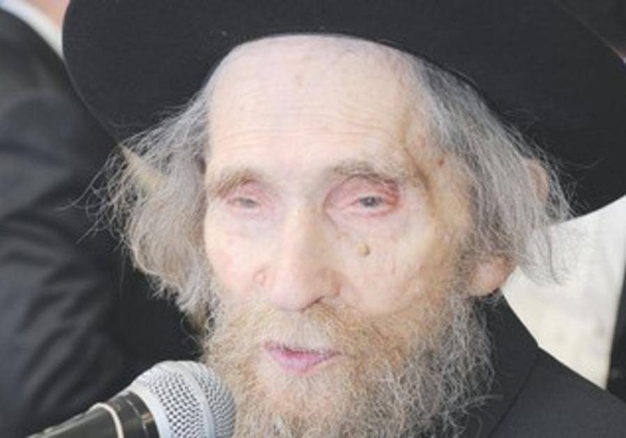 Rabbi Aharon Leib Shteinman