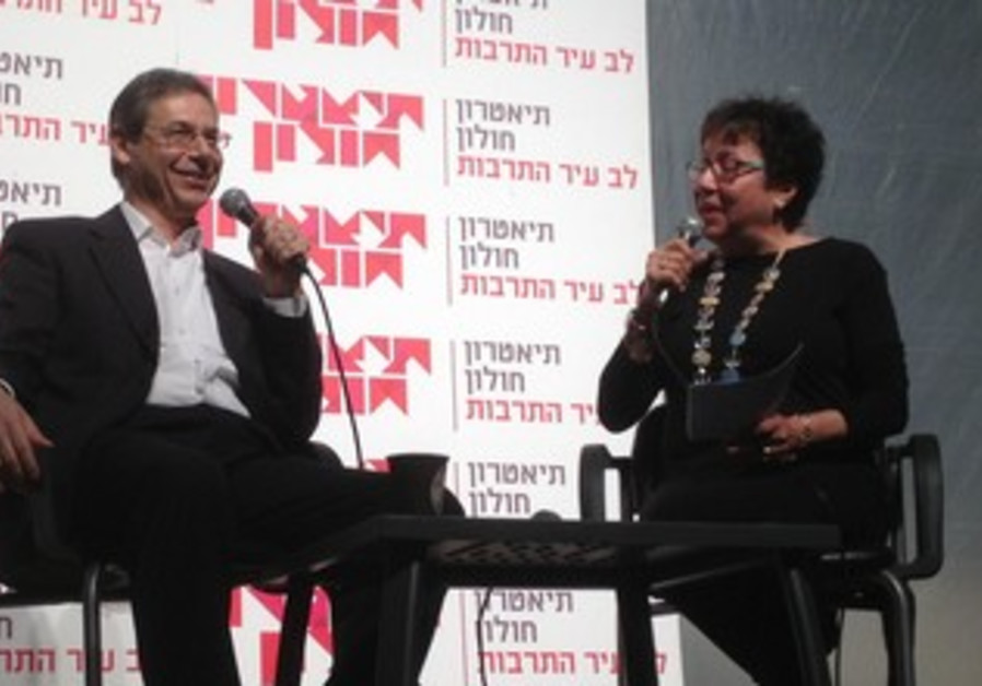 Outgoing FM Danny Ayalon at cultural event, Feb 9, 2013