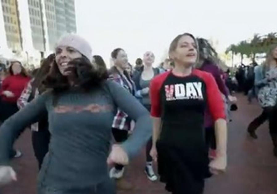San Fransisco flash mob