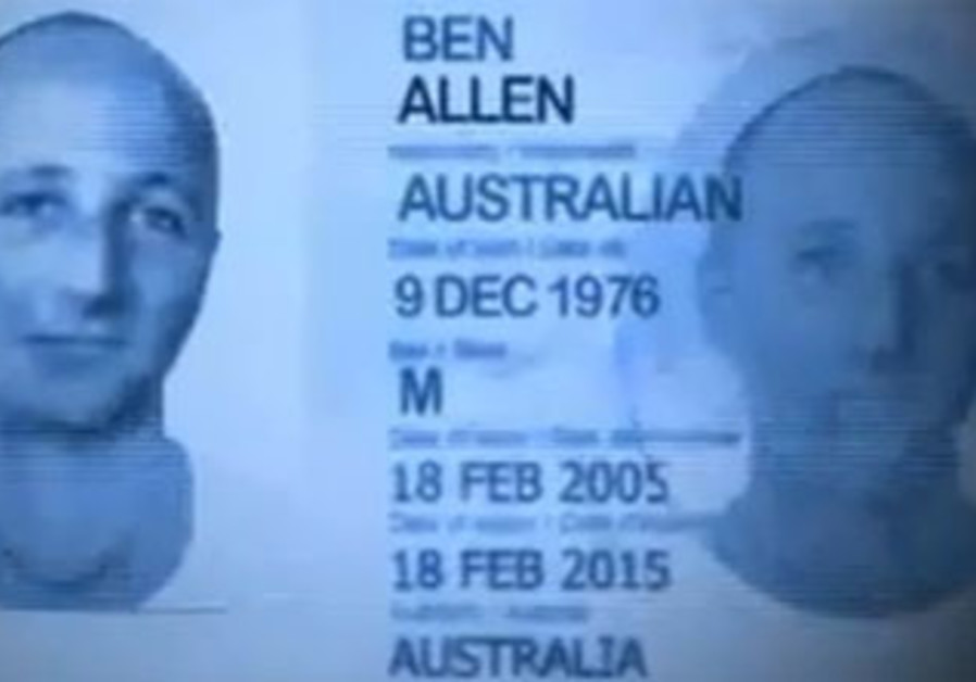 ABC mock up of Ben Zygier passport.