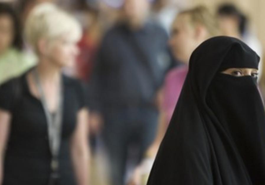 Woman in Dubai shopping mall