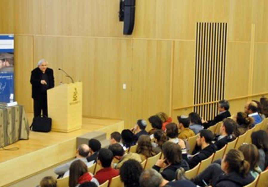 AB Yehoshua at the ASF Symposium