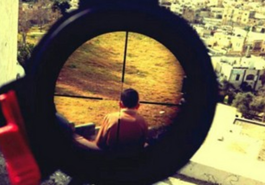 Photo posted to Instagram by IDF soldier apparently shows Palestinian boy in rifle's crosshairs