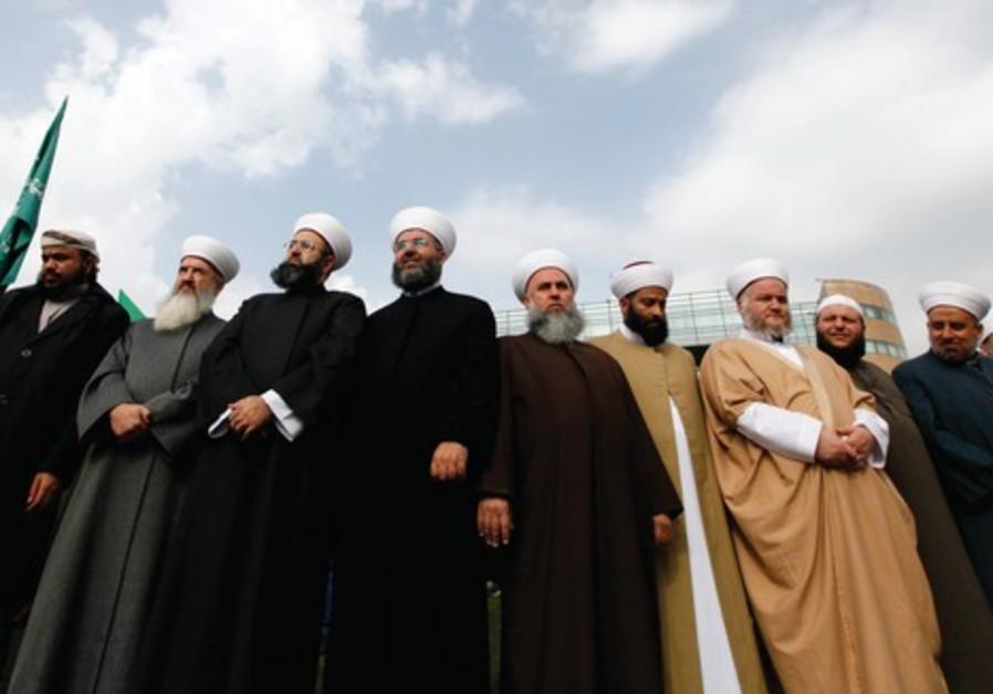 Tous les chefs spirituels des Frères musulmans réunis à Beyrouth.