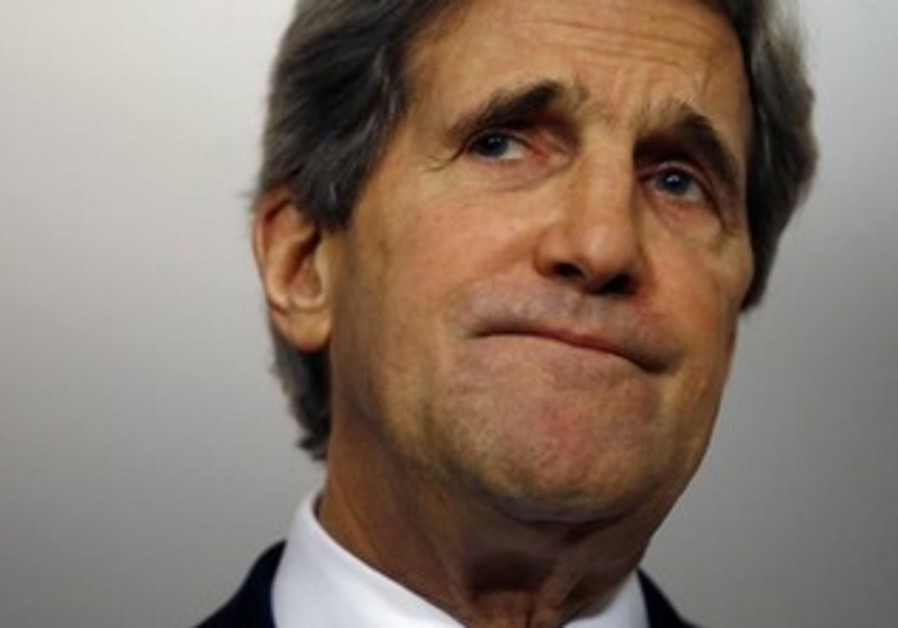 US Secretary of State John Kerry, February 8, 2013.