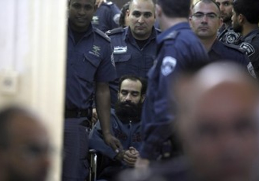 Samer Essawi after being sentenced, February 21, 2013.