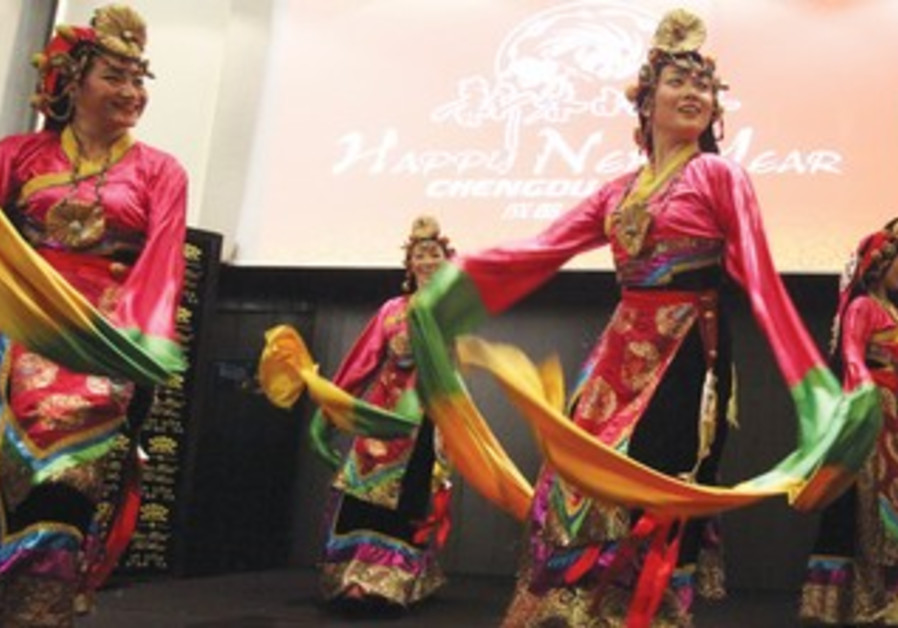 THE CHINESE New Year and Spring Festival celebrations that took place in Tel Aviv, Feb, 2013.
