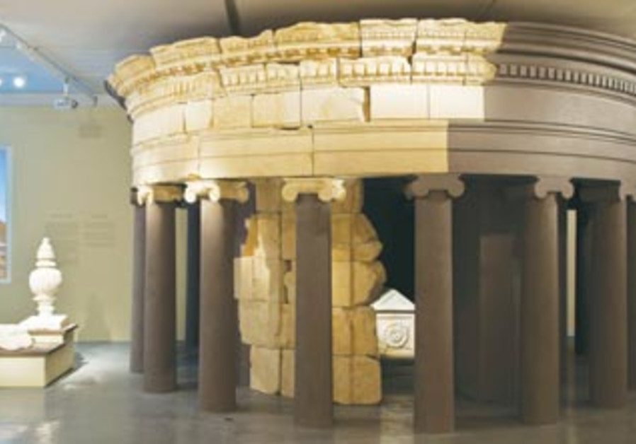 A reconstruction of Herod's tomb