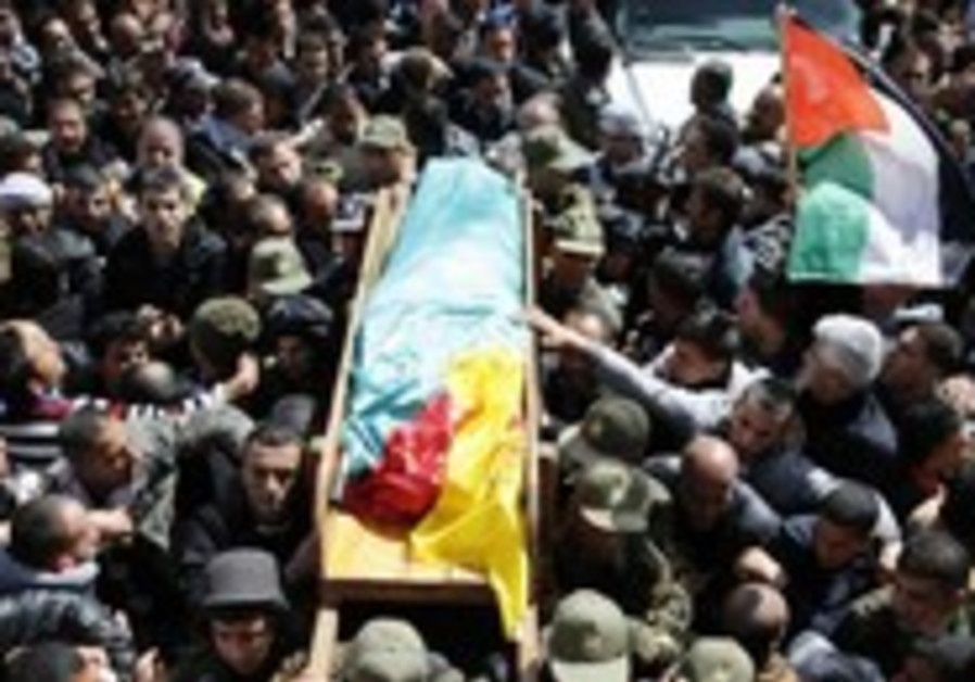 Funeral procession for Palestinian prisoner Arafat Jaradat who died in Megiddo Prison