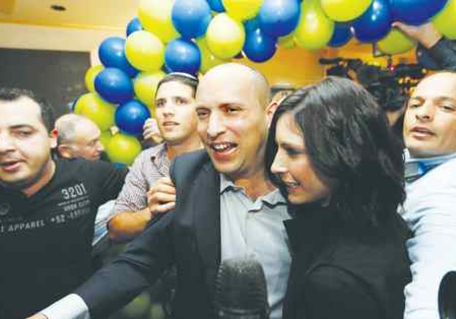 Naftali Bennet election night 521