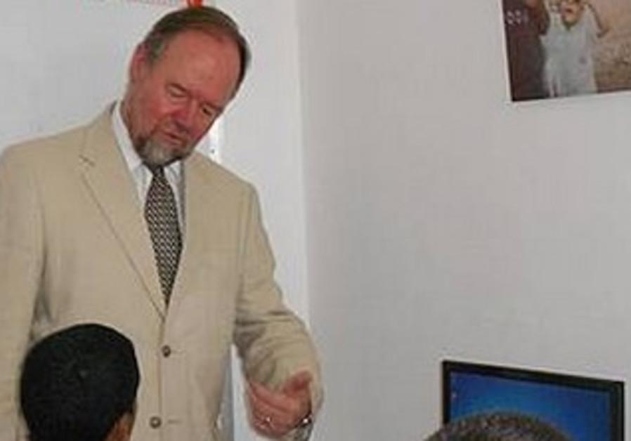 British Consul-General Sir Vincent Fean in Jerusalem
