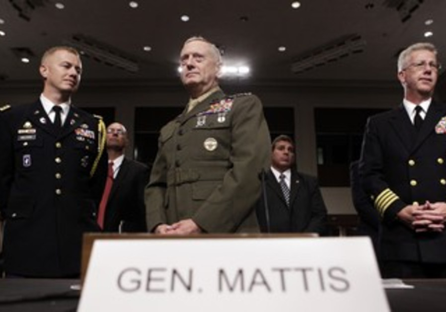 General James Mattis at Senate Armed Services C'tee