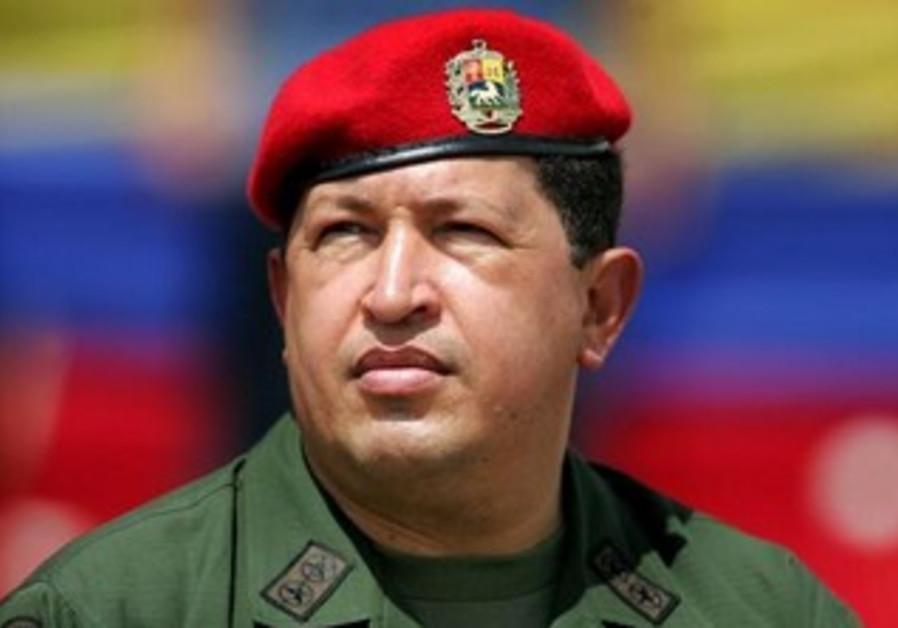 Venezuela President Hugo Chavez [file].