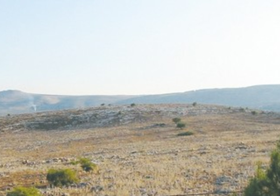 Ramat Arbel in Lower Galilee.