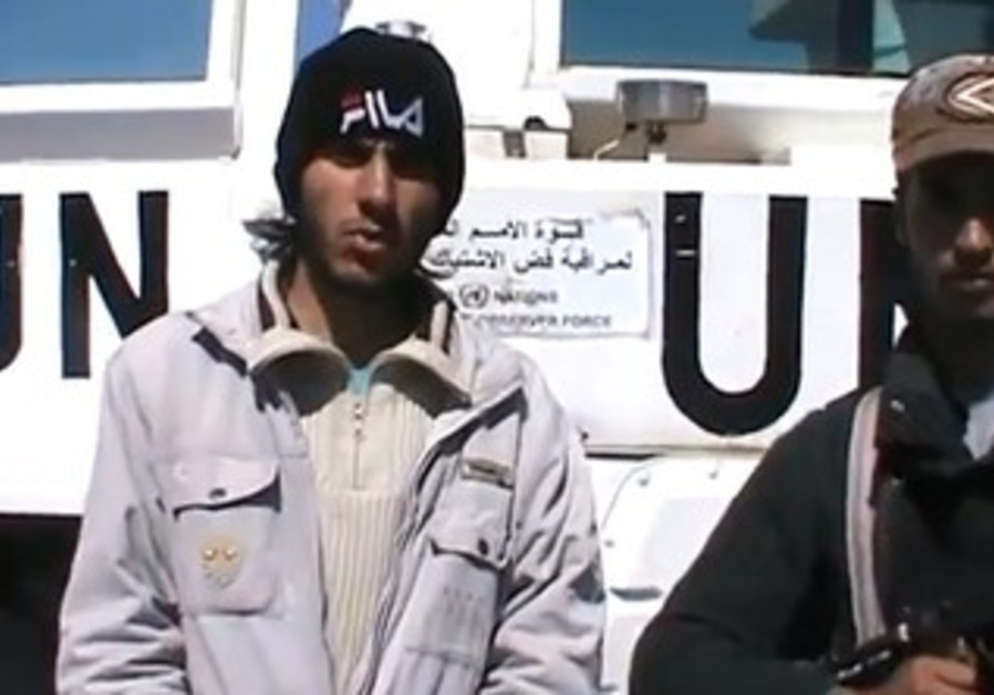 Syrian rebels seize UN peacekeepers, March 6, 2013.