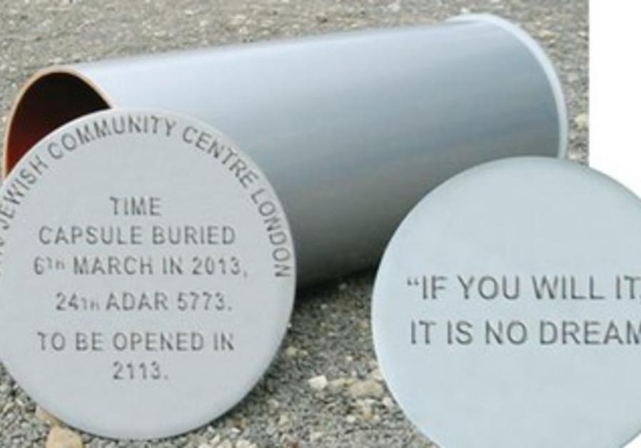 Time capsule buried by British Jewish community