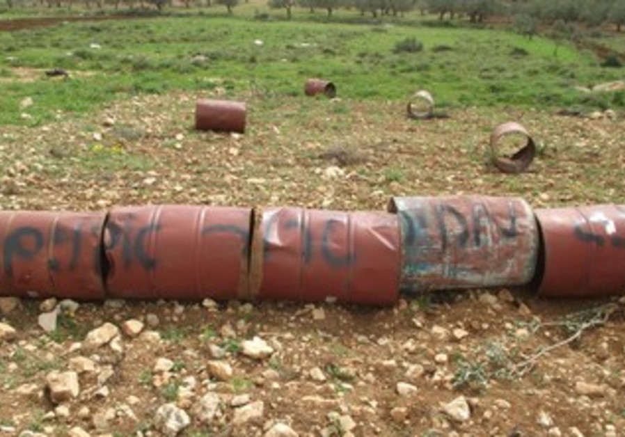 Alleged price tag attack near Nablus