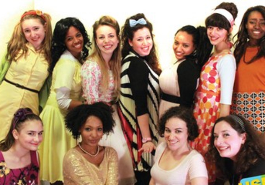 The cast of 'Hairspray'
