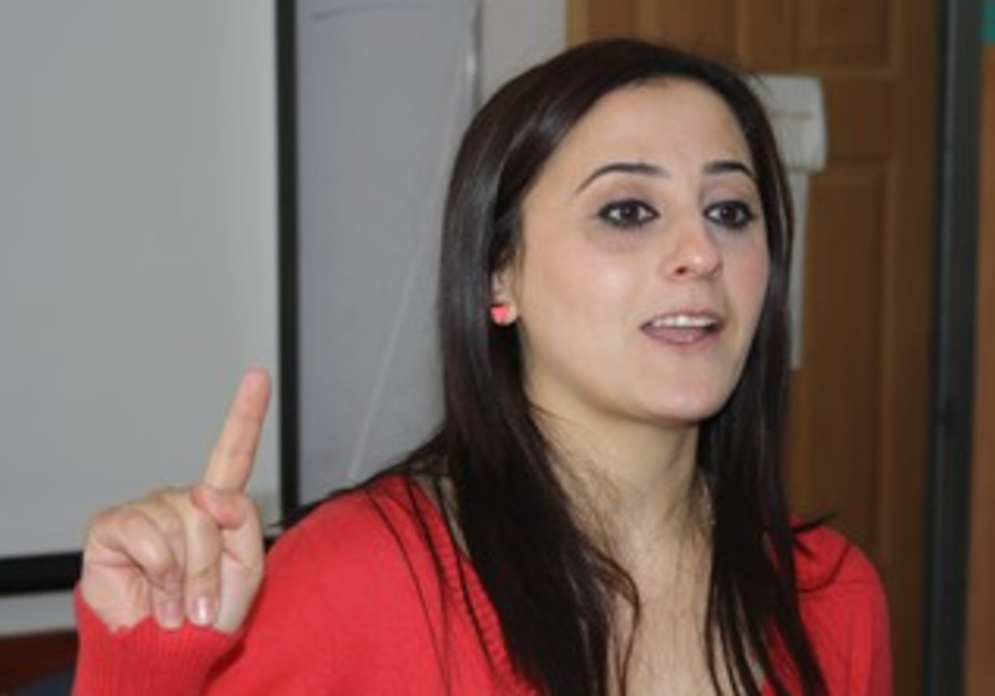 Ranin Deeb, manager of the Abraham Fund program for Arab women in Majd al-Kurum.