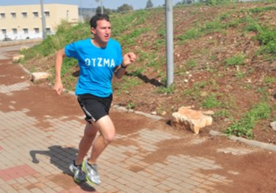 Hendel, an American Jew, will begin a nine-day run down the length of Israel.