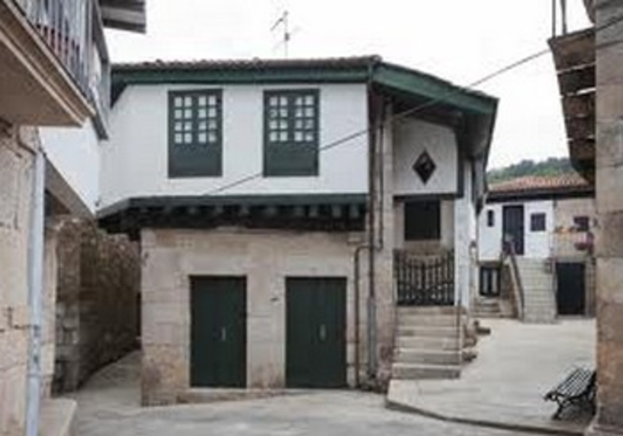 Jewish district, Ribadavia, Galicia