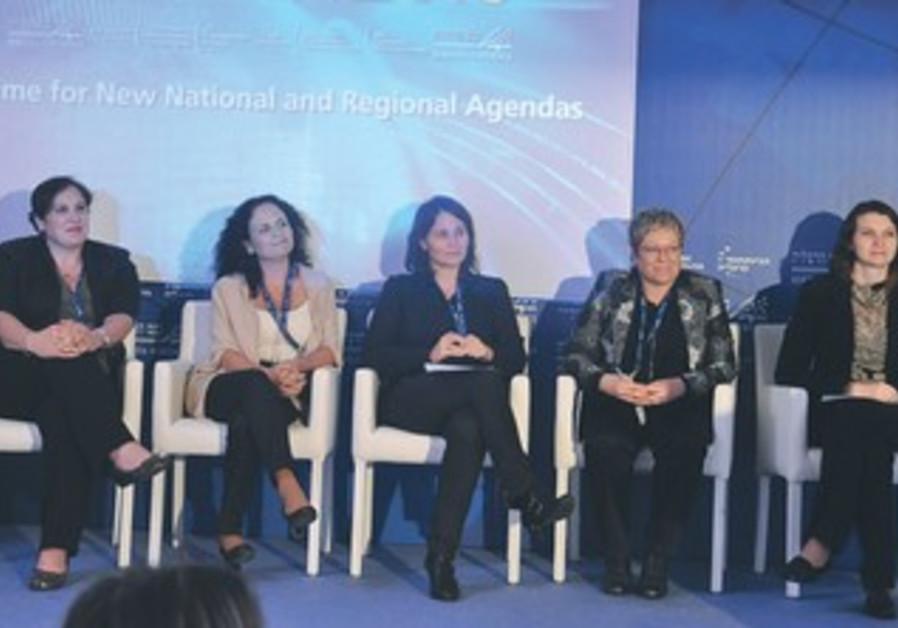 LEFT TO RIGHT: Yafit Alfandari, Ilana Fahima, Dr. Tali Regev, Vered Pear Swid, and Ina Soltanovich-D