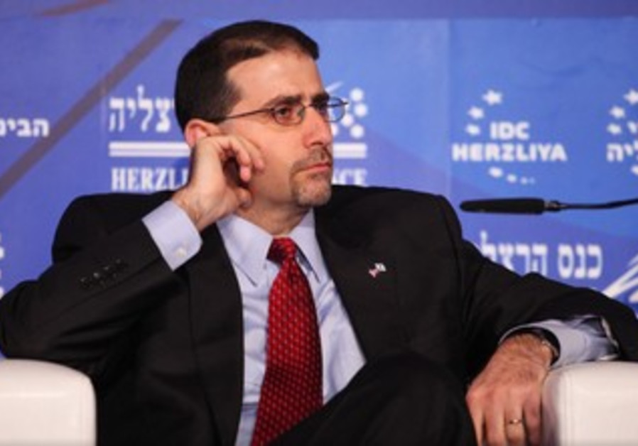 US Ambassador Dan Shapiro at the Herzliya Conference, March 13, 2013.