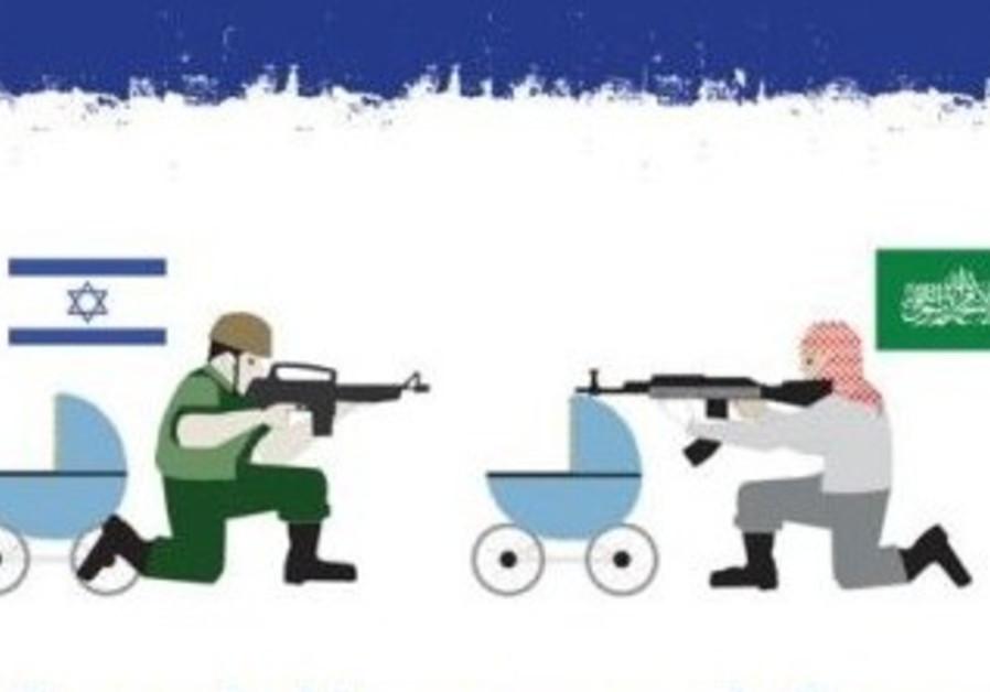 Hamas stroller IDF
