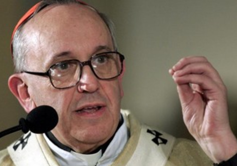 Cardinal Jorge Mario Bergoglio who was elected Pope Francis I [file].