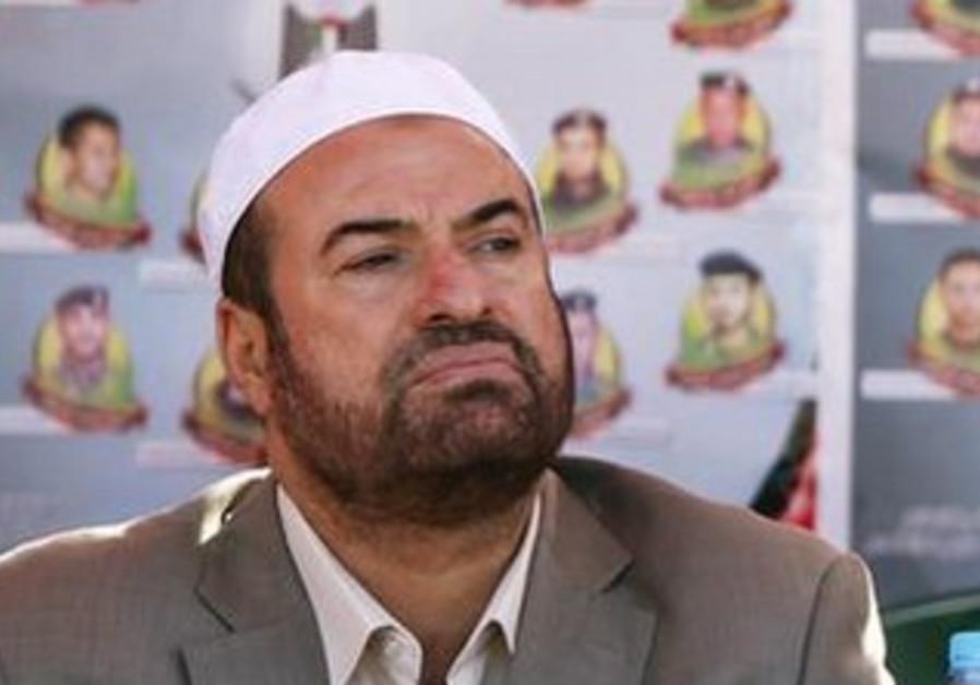 Hamas Interior Minister Fathi Hammad [file].