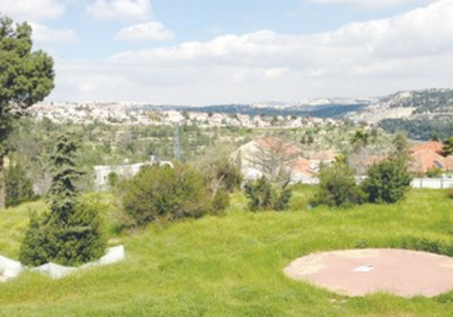 MOTZA, SITUATED in the Judean Hills, overlooks Jerusalem.