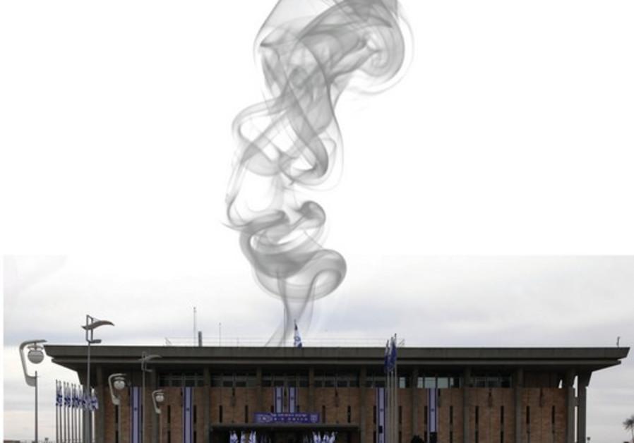 Fumée blanche sur Jérusalem