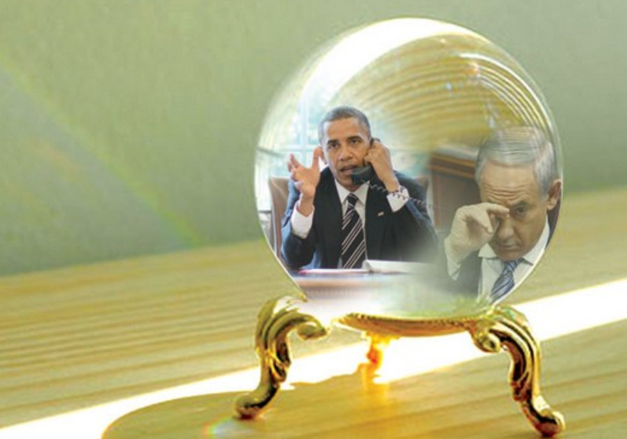 Obama Vs Netanyahou