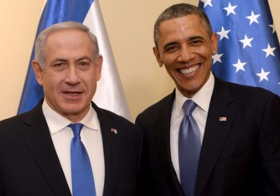 US President Obama and Prime Minister Binyamin Netanyahu, March 20, 2013.