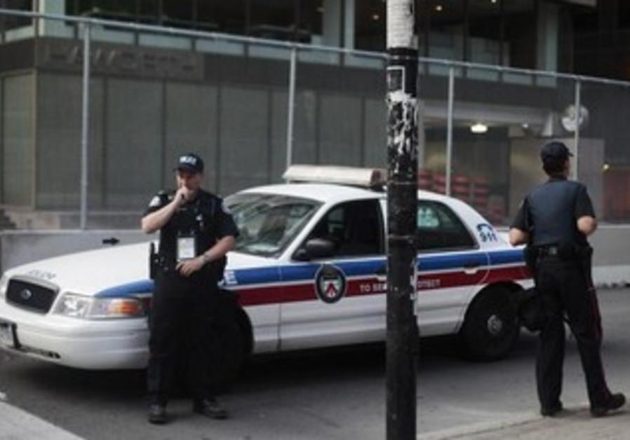 Police in Toronto