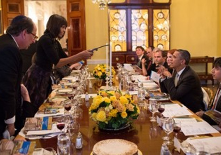 Passover Seder at the White House, March 25, 2013.