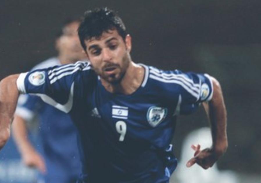 EDEN BEN-BASAT scored Israel's second goal in its 2-0 win over Northern Ireland, March 26