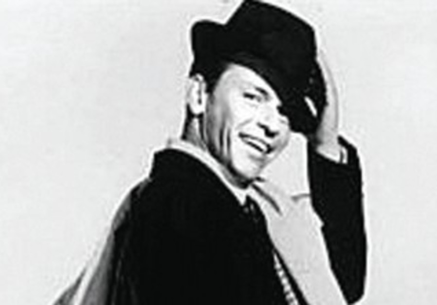 FRANK SINATRA as Pal Joey in 1957: Joey starts out by insulting Vera.