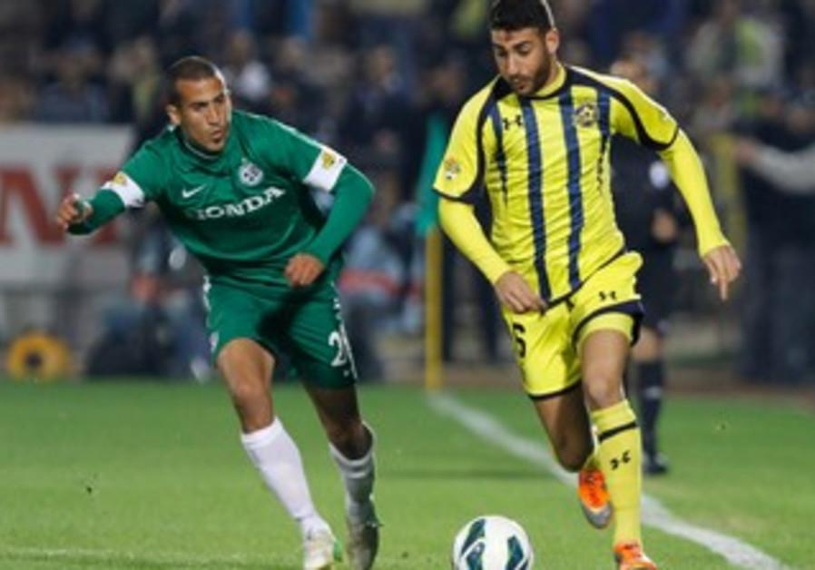 Maccabi Tel Aviv face off with Maccabi Haifa.